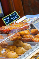 kouign amann traditional french sweet from britany