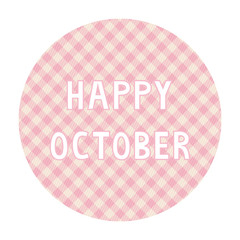 Happy October background4