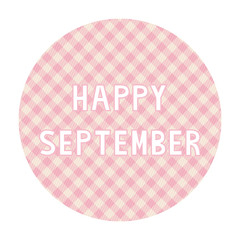 Happy September background4