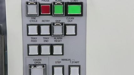 Warning light alarm working
