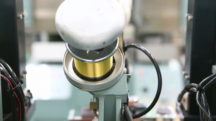 gold wire roll for Integrate circuit machine