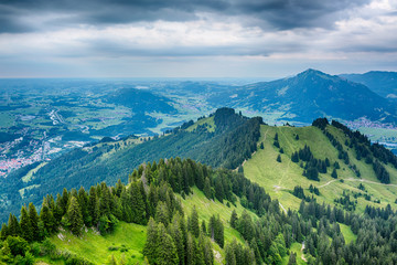 Stormy Mountain Landscape - the Alps
