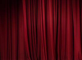theater red curtain background