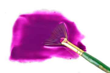 Brush in Purple