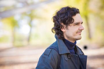 Smiling Man Portrait