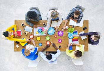 Design Team Planning with Social Media Symbols