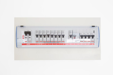 Main circuit box safety breaker