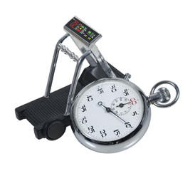 Stopwatch and Treadmill