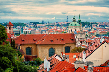 Beautiful view of Prague