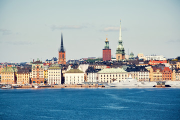 View to Gamla Stan in Stockholm