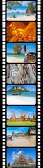 photos de Thaïlande sur pellicule de film