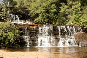 Waterfall Cascades, Blue Mountains, Sydney, Australia