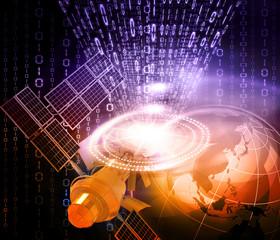 Satellite communications concept