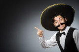 Mexican man in funny...