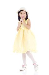 Portrait of a lovely asian kid