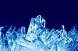 Leinwandbild Motiv Crystals macro