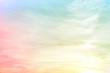 Leinwandbild Motiv fuzzy pink blue yellow background gradient