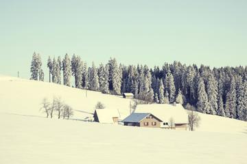 Winterlandschaft, Schwarzwald, Baden Württemberg, Deutschland
