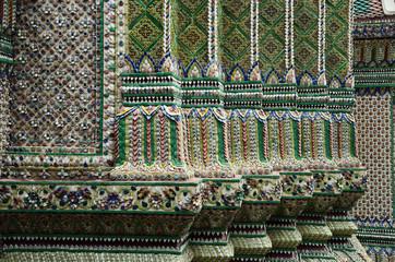 Ornamental detail at Thai temple