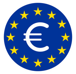 Eurosymbol im Sternenkranz, Kreis