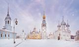 Winter orthodox kremlin