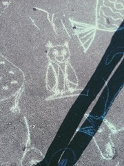 draw on the ground