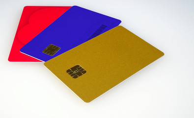 plastic electronic card for access
