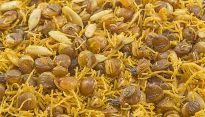 Indian fried pulse snacks namkeen