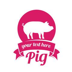 pig meat label