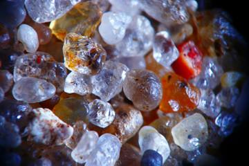 macro texture crystals gems