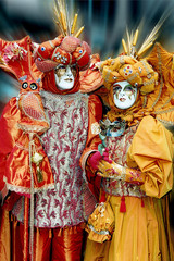 Carnaval couple chouette
