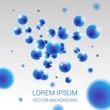 molecule-blue - 68829343