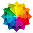 Colored arrows in a circle icon