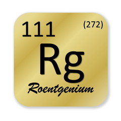 Roentgenium element
