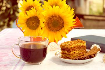 Завтрак. coffee