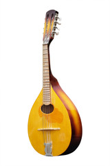 mandolin isolated