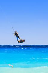 Kitesurfing in Mexico