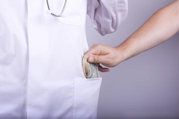 Geld Arzt Dollar