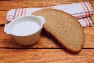Salt and bread