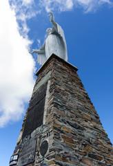 Madonna sulla vetta del Monte Zerbion - Valle d'Aosta