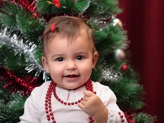 beautiful christmas baby