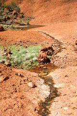 australia desert water