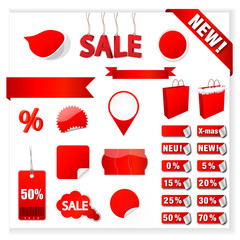 Red Sale Set