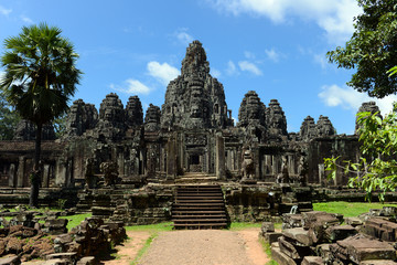 Bayon temple of Angkor
