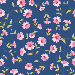 Flower samless pattern.