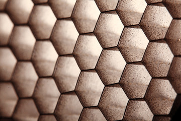 abstract texture honeycomb