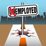 Employed plate poster