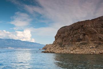 Blick auf die Adria in Kroatien Inseln in Südeuropa