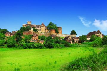 Bretenoux Castelnau - medieval castle , France