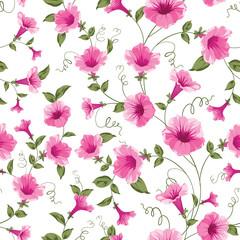 Design of vintage floral card.